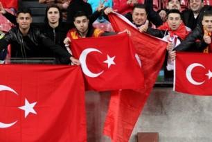 Sport supporters in Turkije